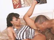Fotograf nimmt sein Ebony Model mit zum ficken