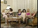 Vintage Frauen in Unterwäsche