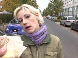 Deutscher Reality Fick mit einer Blondine